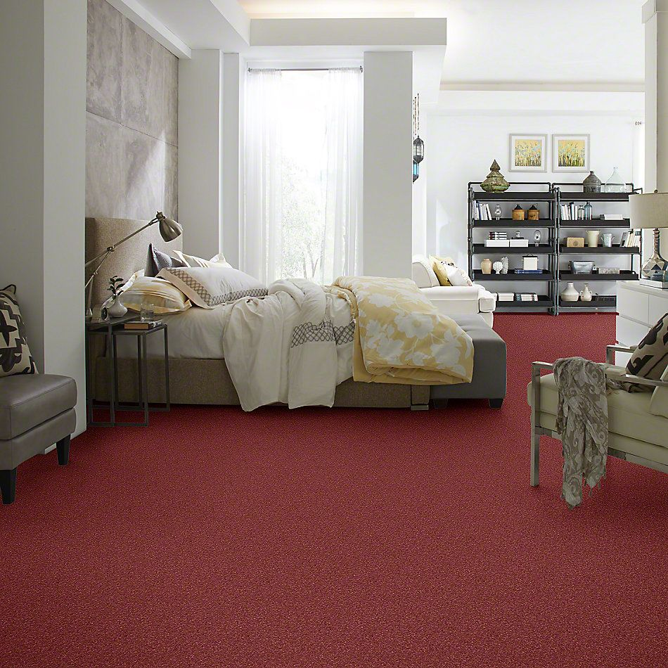 Shaw Floors Caress By Shaw Cashmere Classic I Cranberry 00821_CCS68