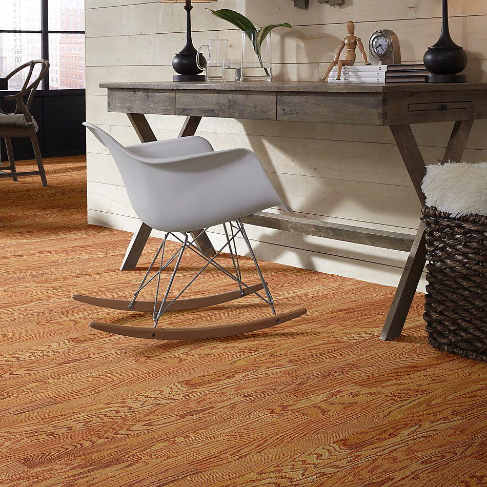 Shaw Floors Home Fn Gold Hardwood Rhapsody 5 Butterscotch 00841_HW675