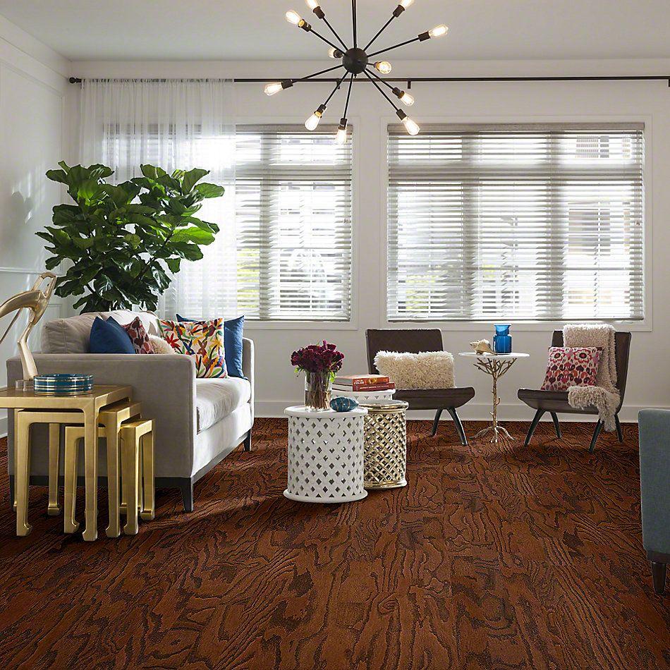 Shaw Floors Shaw Hardwoods Albright Oak 3.25 Hazelnut 00874_SW581