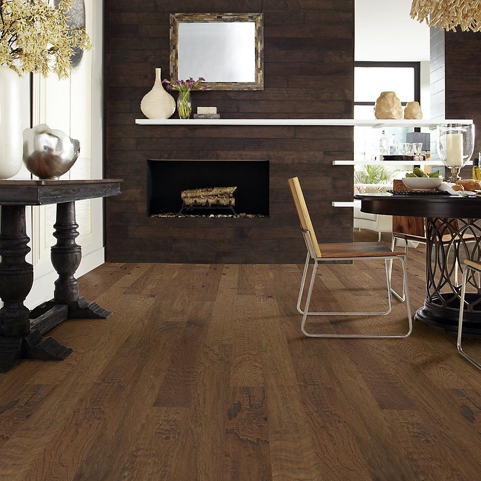 Shaw Floors Home Fn Gold Hardwood Nottoway Hickory II – 5″ Warm Sunset 00879_HW612