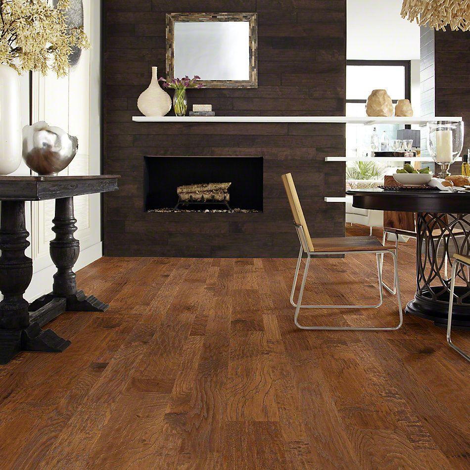 Shaw Floors Shaw Hardwoods Sequoia Hickory Mixed Width Woodlake 00879_SW546