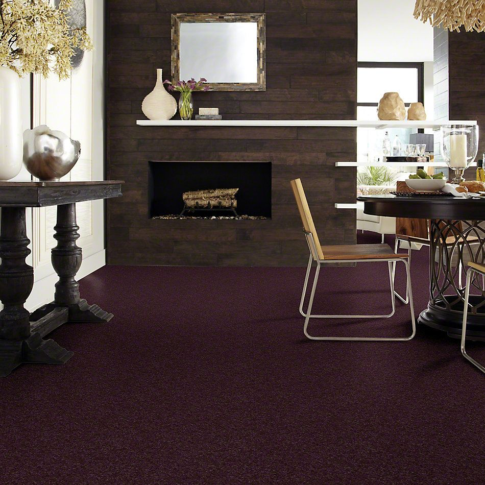 Shaw Floors Clearly Chic Bright Idea II Grape Wine 00901_E0505