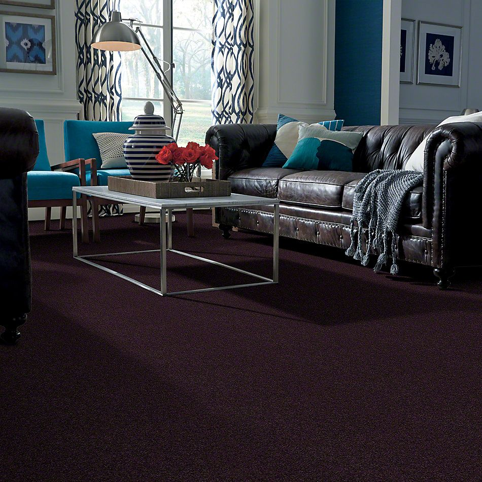 Shaw Floors Anso Colorwall Gold Texture Tyrian Purple 00934_EA571