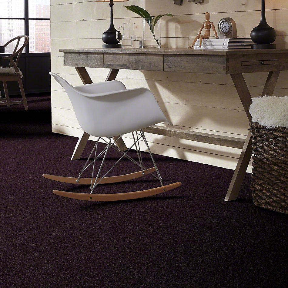 Shaw Floors Anso Colorwall Platinum Texture 12′ Tyrian Purple 00934_EA572