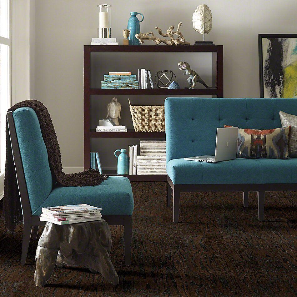 Shaw Floors Shaw Hardwoods Albright Oak 5 Coffee Bean 00938_SW582