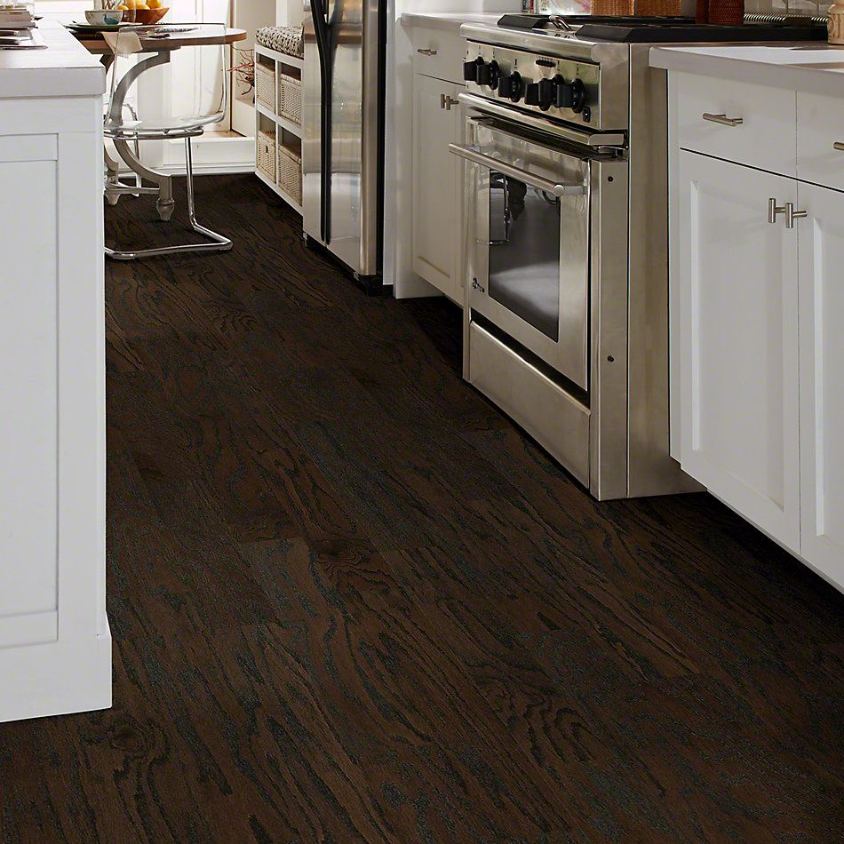 Shaw Floors Shaw Hardwoods Albright Oak 5 Coffee Bean 00938_SW582
