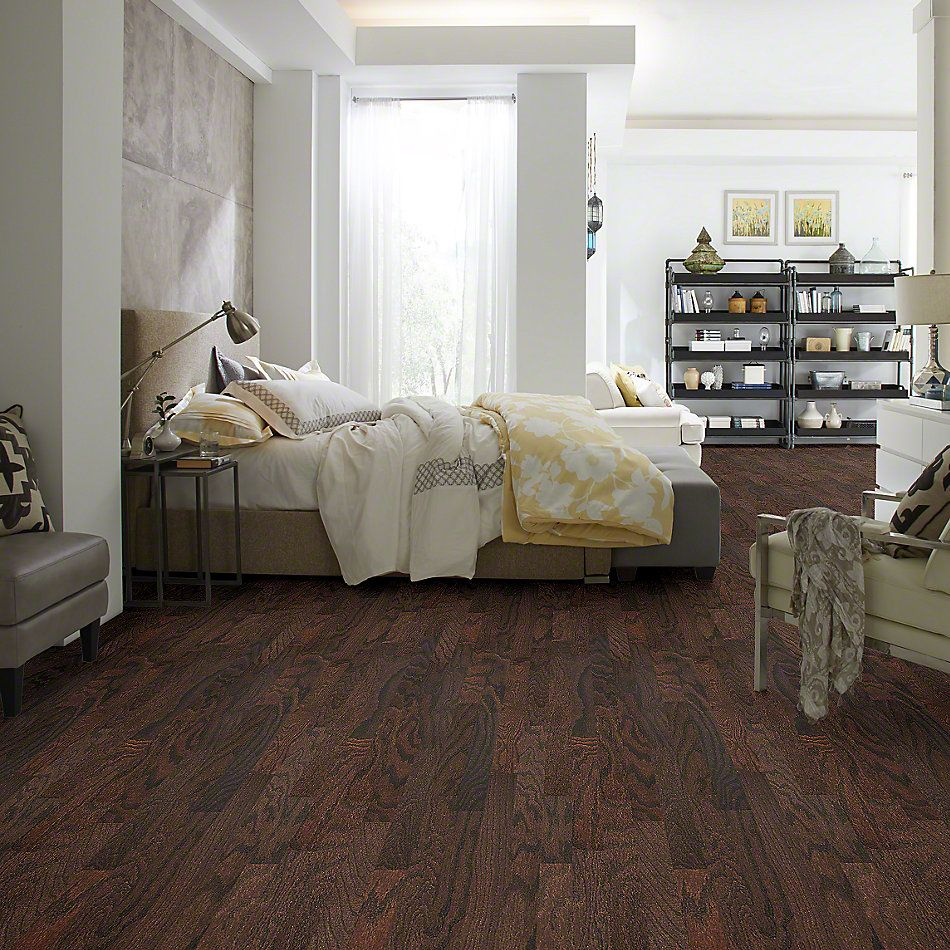 Shaw Floors Shaw Hardwoods Sonata 3 Coffee Bean 00938_SW674