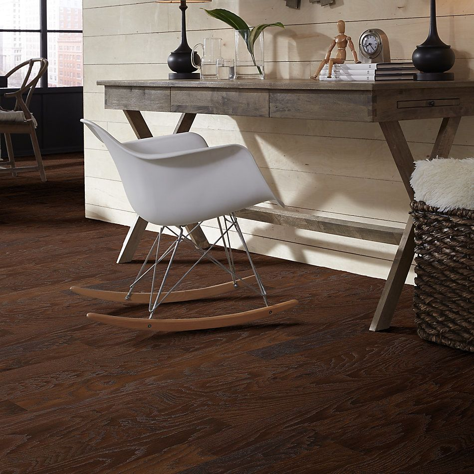 Shaw Floors Home Fn Gold Hardwood Leesburg 2-5″ Weathered Saddle 00941_HW606