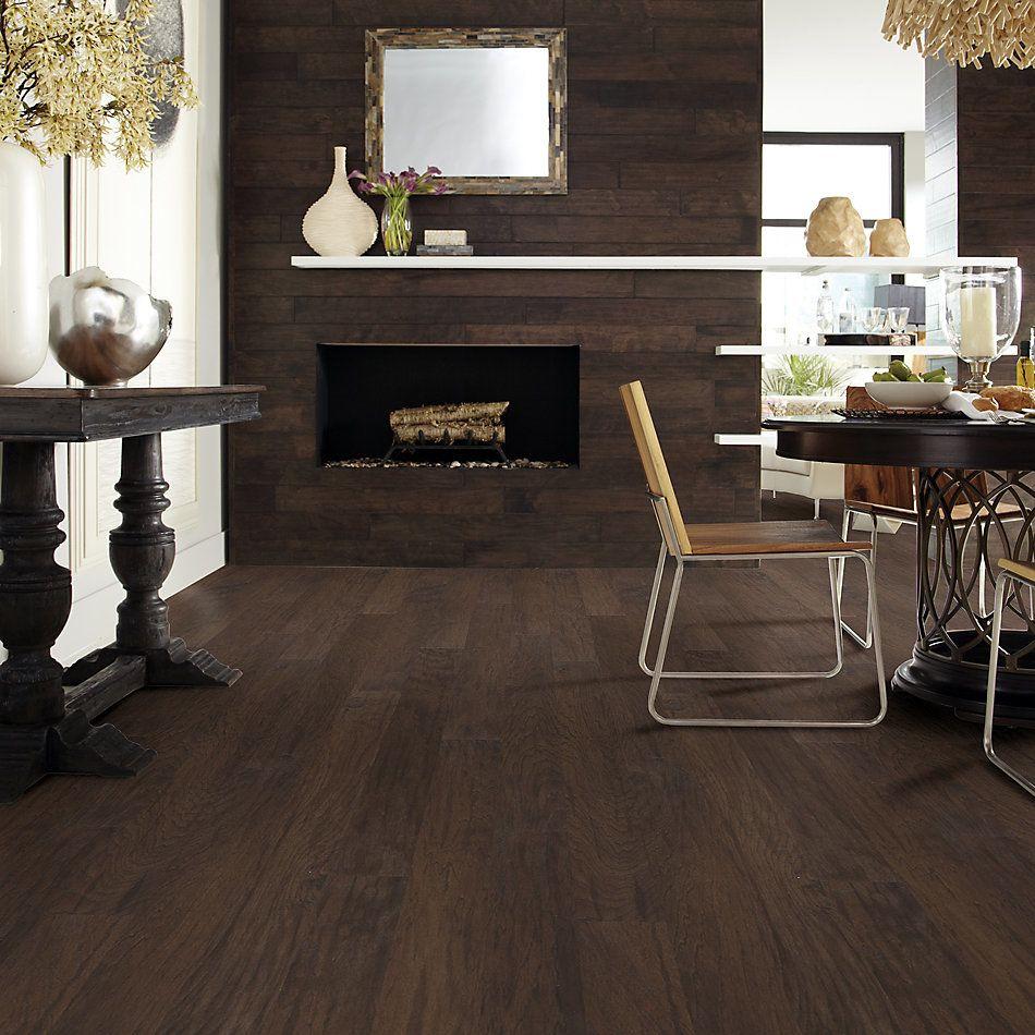 Shaw Floors Home Fn Gold Hardwood Nottoway Hickory II – 5″ Weathered Saddle 00941_HW612