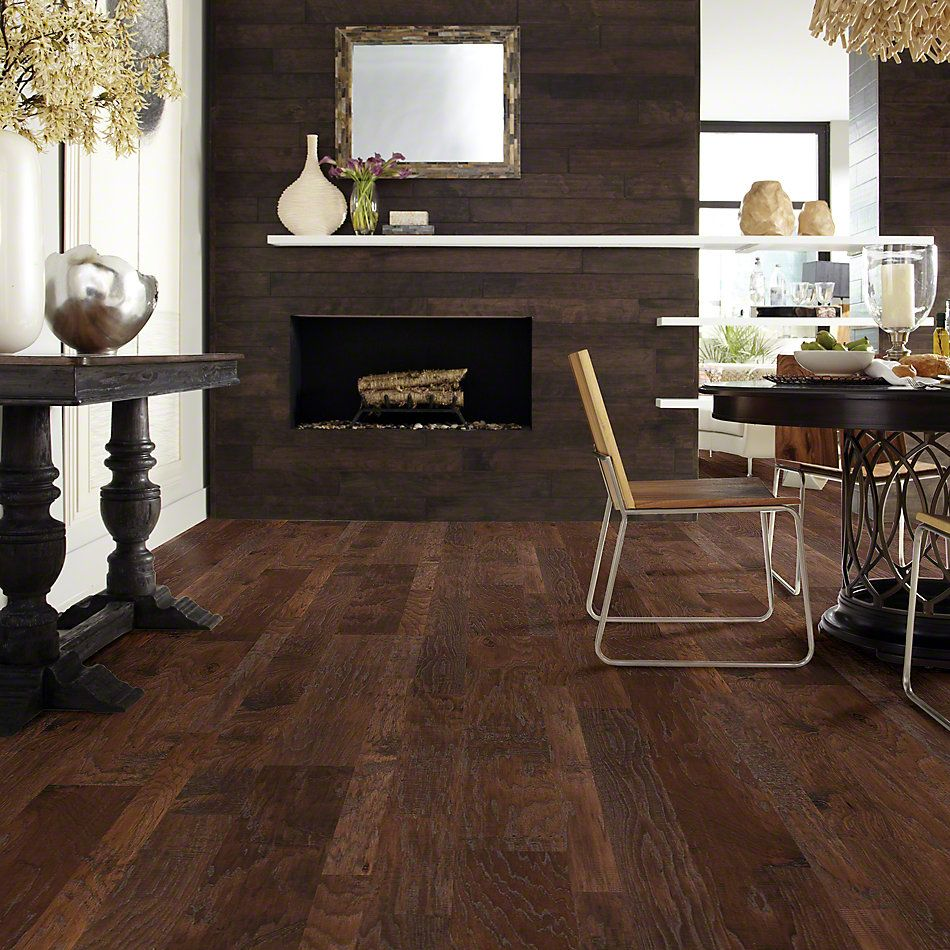 Shaw Floors Shaw Hardwoods Sequoia Hickory Mixed Width Three Rivers 00941_SW546