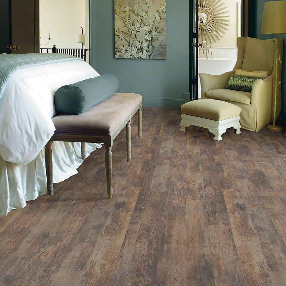 Shaw Floors Versalock Laminate Vintage Painted Weathered Wall 00944_SL336