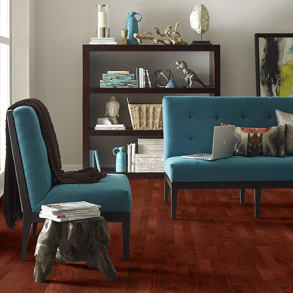 Shaw Floors Home Fn Gold Hardwood Family Reunion 2.25 Cherry 00947_HW424