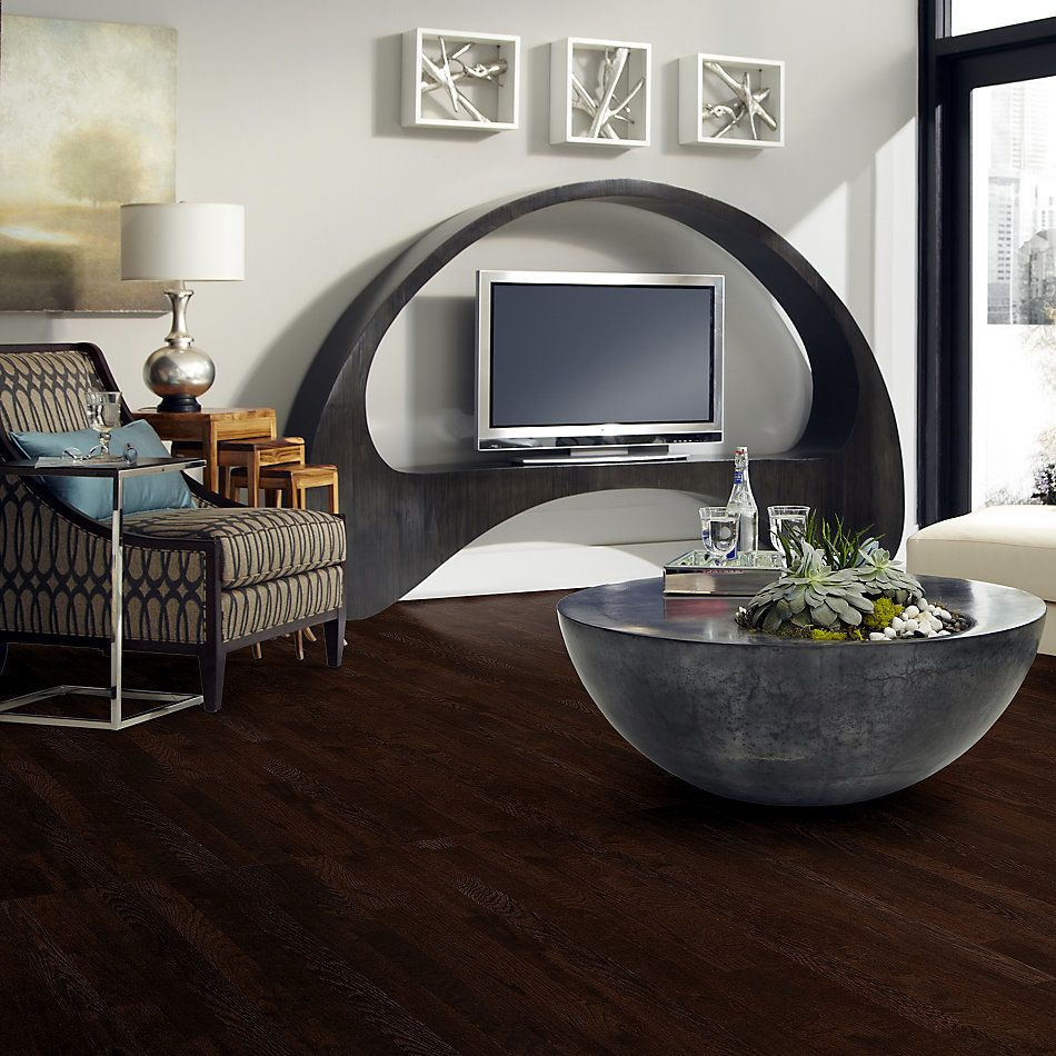 Shaw Floors Home Fn Gold Hardwood Family Reunion 3.25 Coffee Bean 00958_HW425