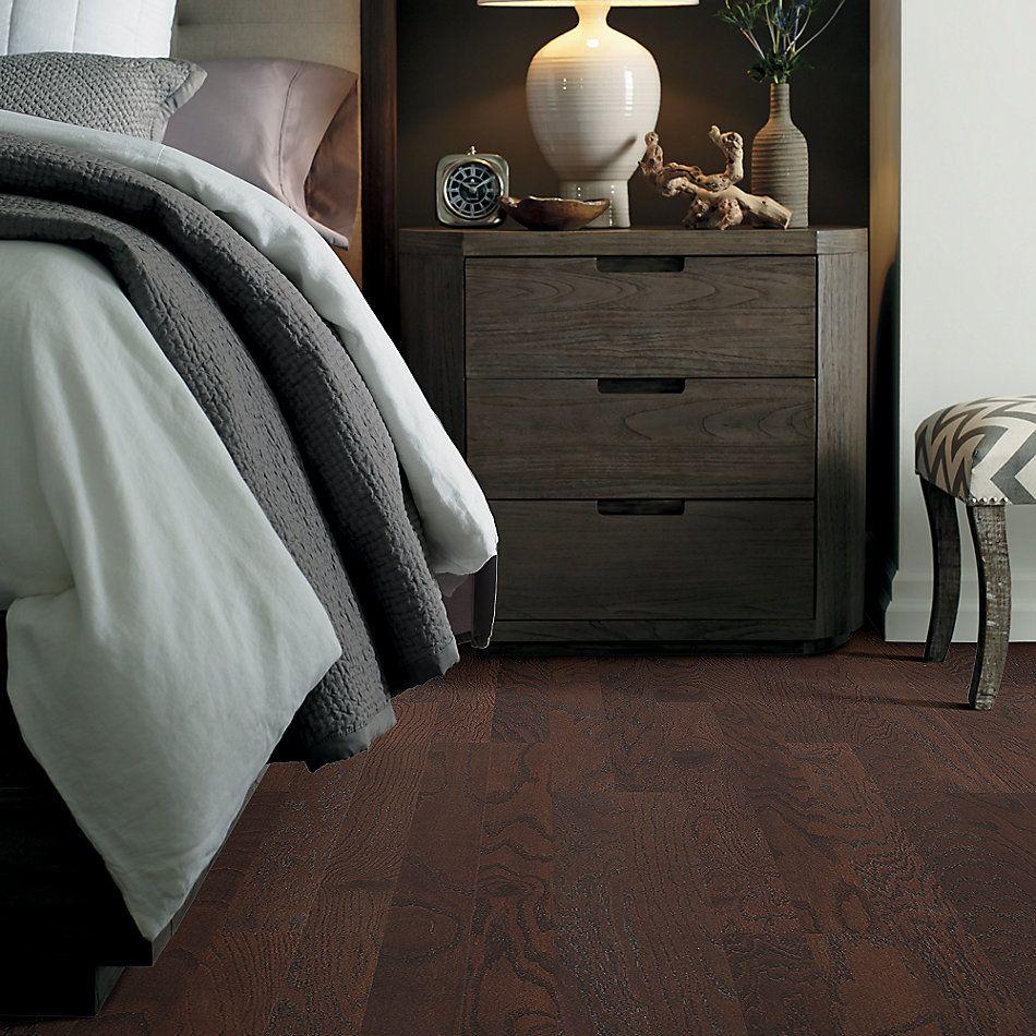 Shaw Floors Home Fn Gold Hardwood Rosebrooke Oak Coffee Bean 00958_HW515