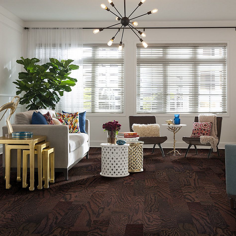 Shaw Floors Duras Hardwood Century Oak 5 Coffee Bean 00958_HW695