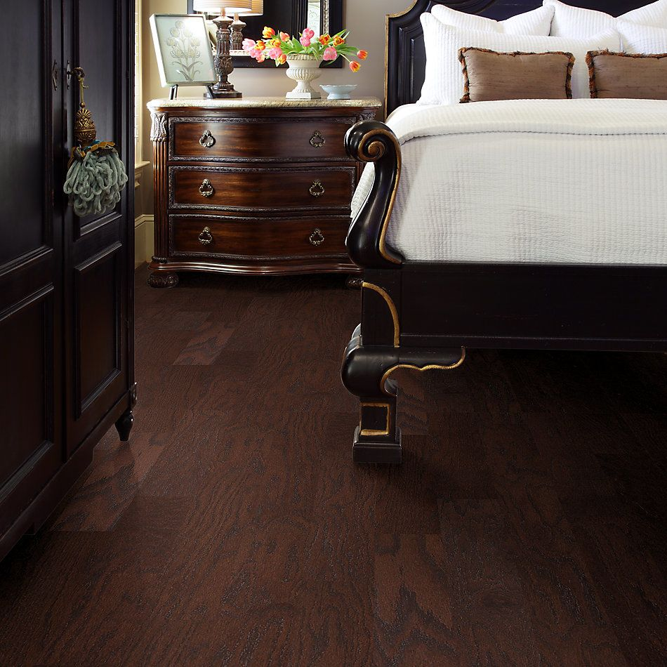 Shaw Floors Shaw Hardwoods Hawkins 5 Coffee Bean 00958_SW488