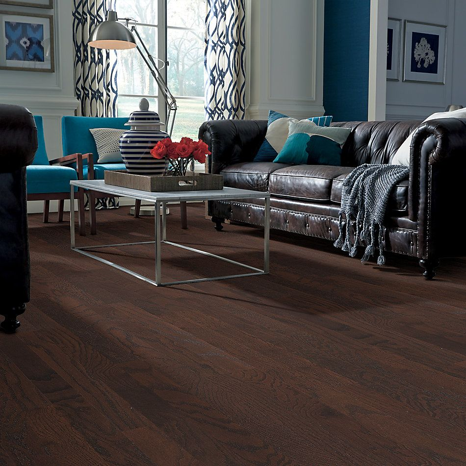 Shaw Floors Shaw Hardwoods Gazebo Oak Coffee Bean 00958_SW515