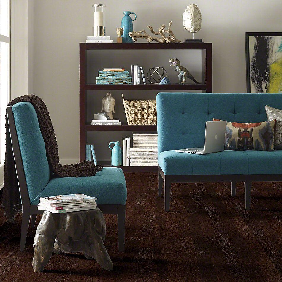 Shaw Floors Nfa Premier Gallery Hardwood Edenwild 3.25 Coffee Bean 00958_VH030