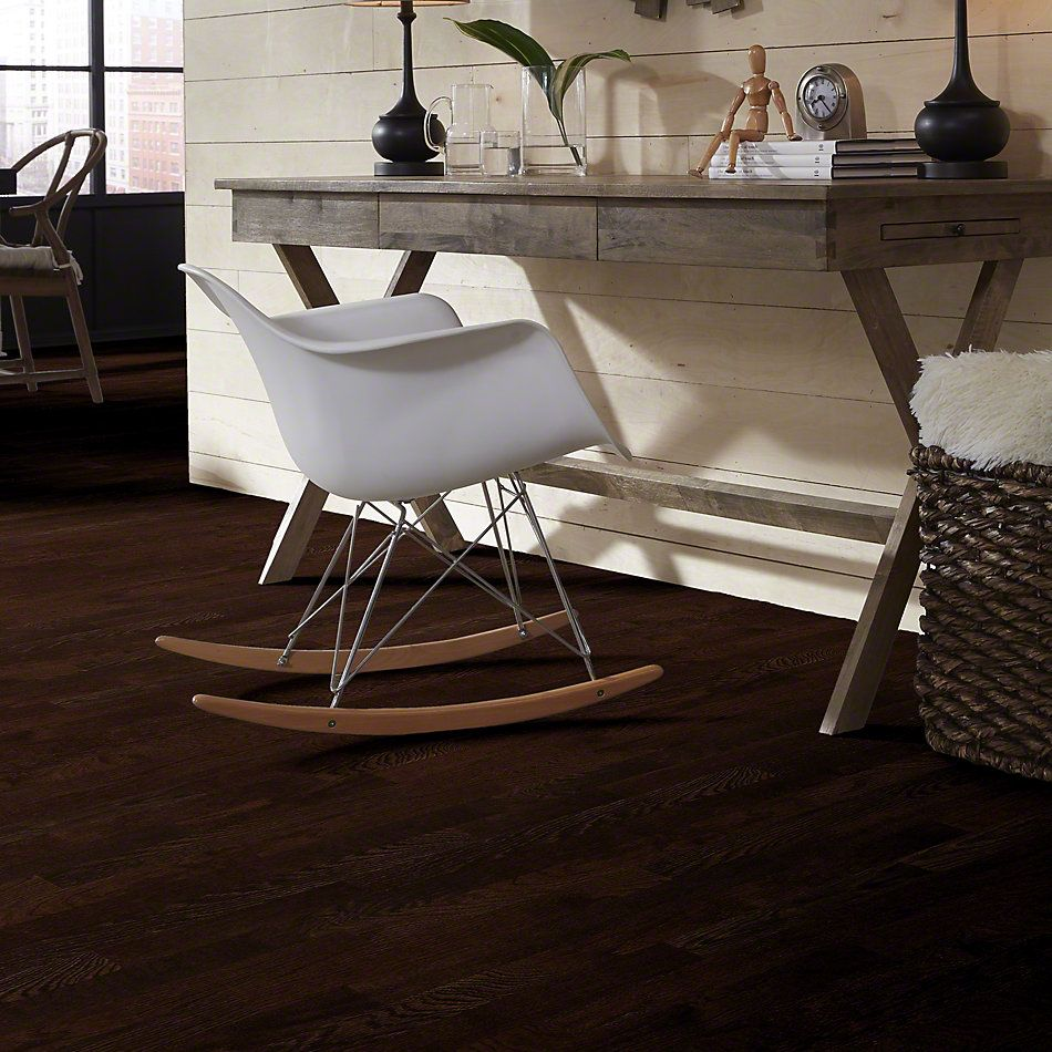 Shaw Floors Nfa Premier Gallery Hardwood Edenwild 3.25 Coffee Bean 00958_VH030