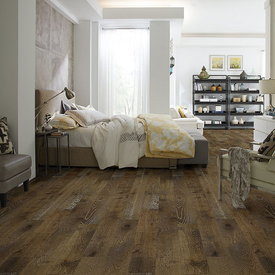 Shaw Floors Nfa Premier Gallery Hardwood Castleton Oak Trestle 00986_VH035