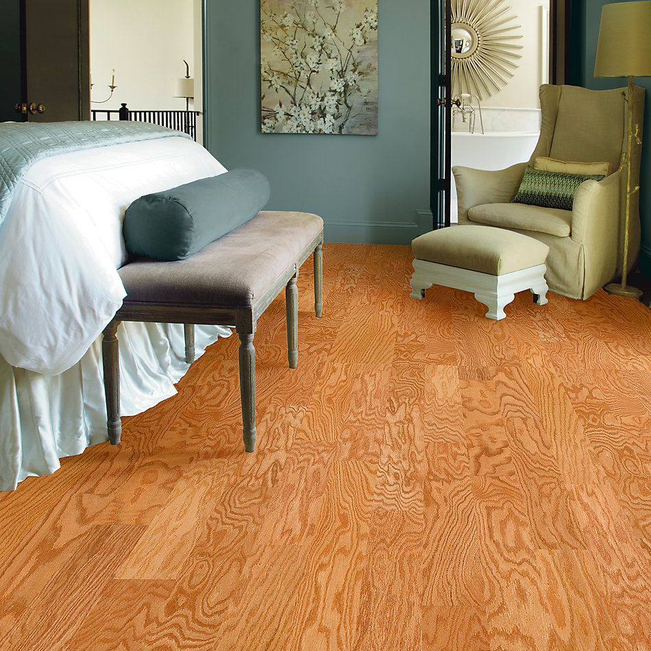 Shaw Floors Home Fn Gold Hardwood Ruger Oak 5 Natural Oak 01000_HW538