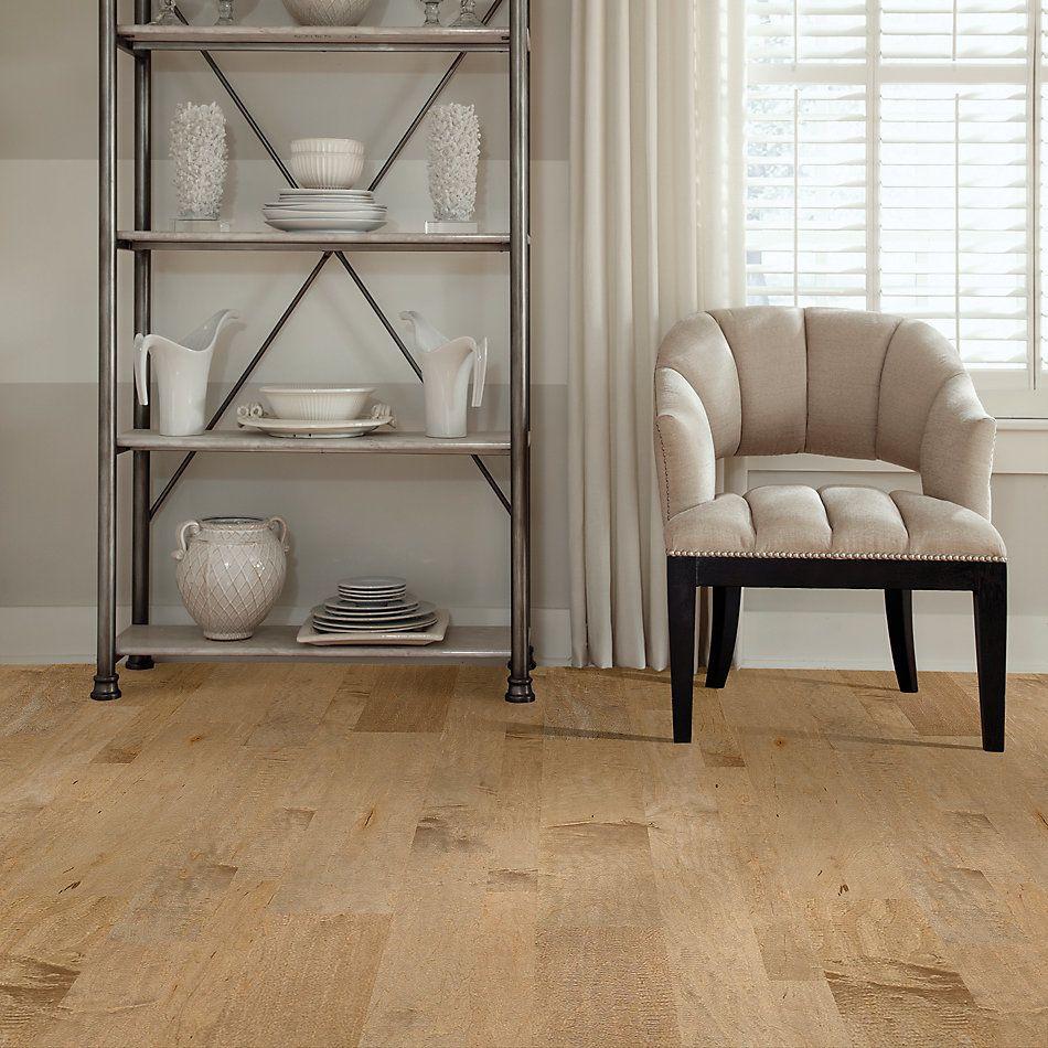 Shaw Floors Home Fn Gold Hardwood Mackenzie Maple 2-mixed Gold Dust 01001_HW618