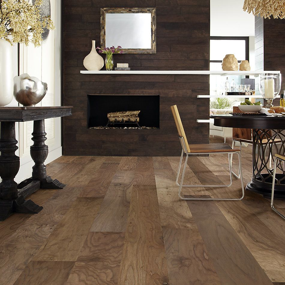 Shaw Floors Duras Hardwood Memorial Walnut Lincoln 01013_HW599