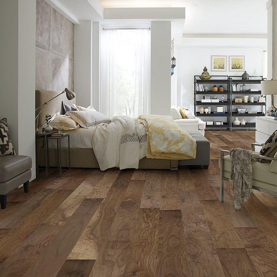 Shaw Floors Duras Hardwood Memorial Walnut Lincoln 01013_HW599
