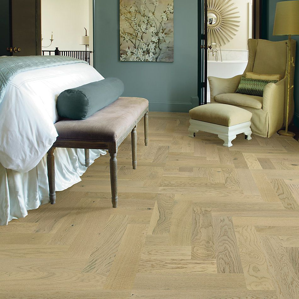 Shaw Floors Home Fn Gold Hardwood Park Avenue Herringbone Carnegie 01028_HW663