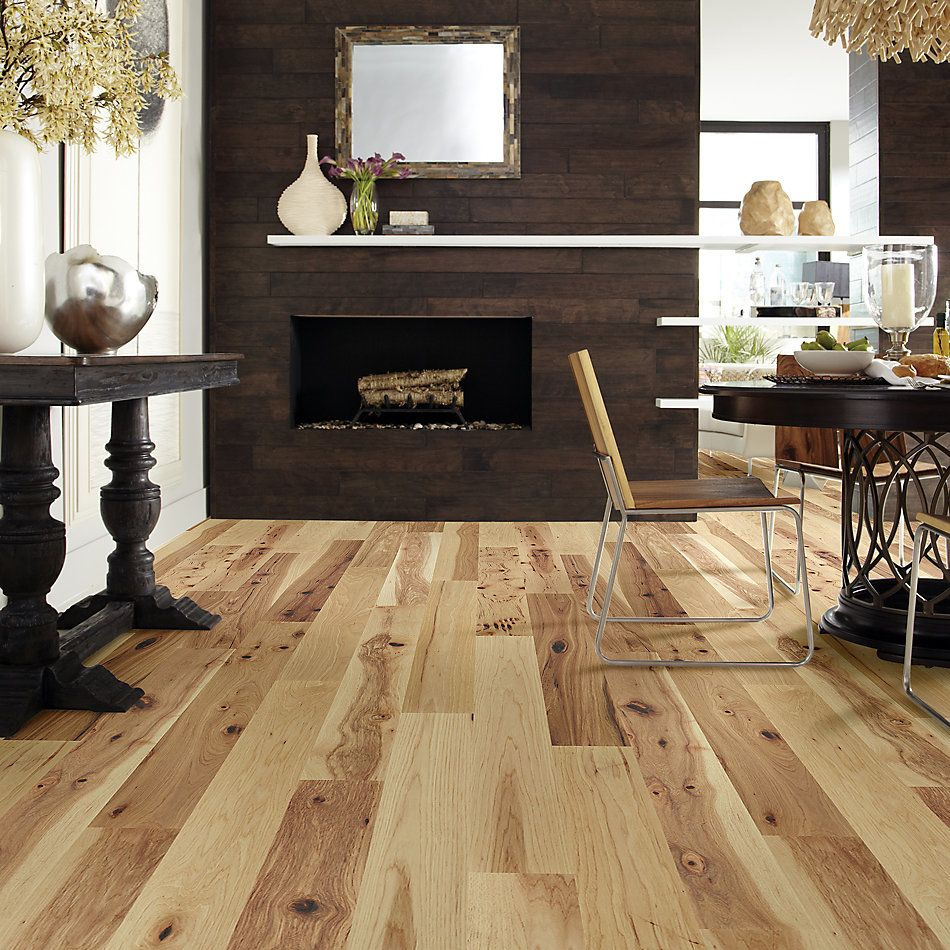 Shaw Floors Home Fn Gold Hardwood Oasis Hickory Reunion 01087_HW715