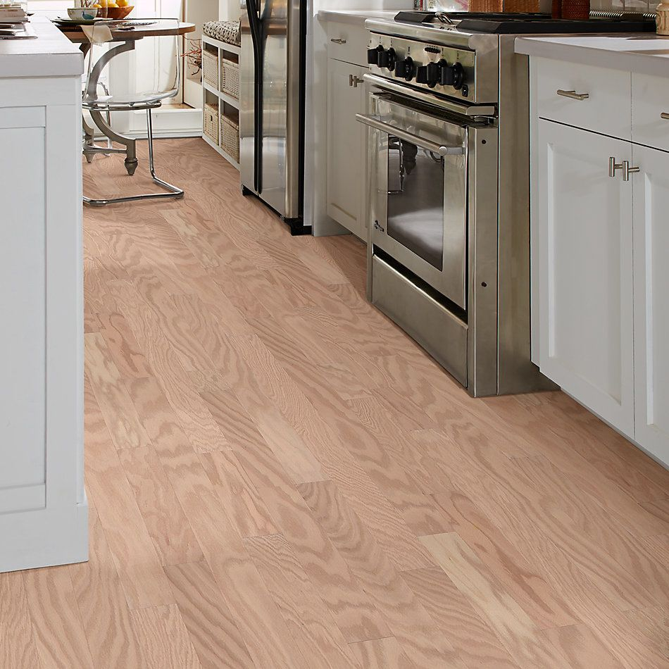 Shaw Floors Shaw Hardwoods Albright Oak 3.25 Biscuit Lg 01102_SW581