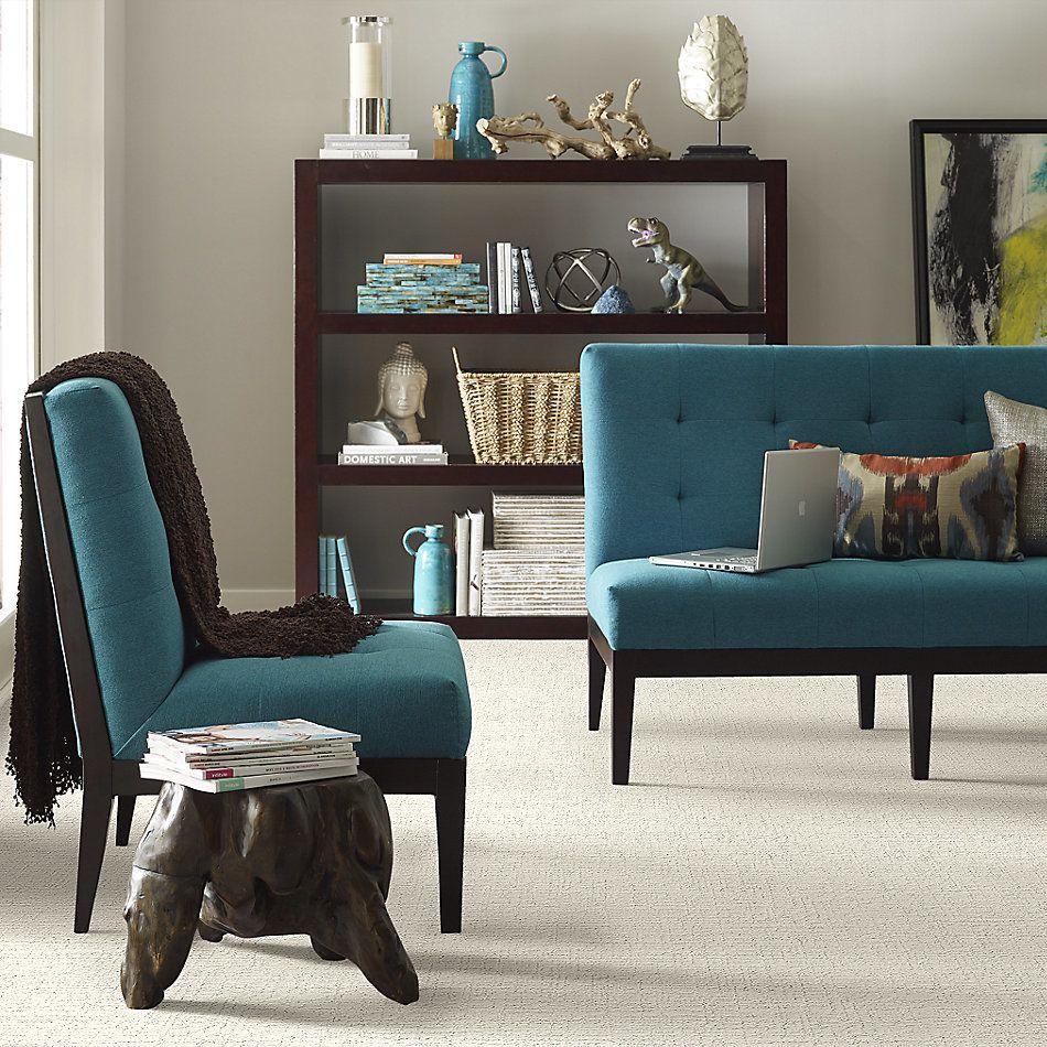 Shaw Floors Value Collections Creating Memories Blue Net Clean Linen 0122P_EA829