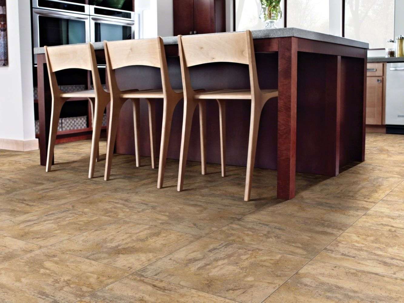 Shaw Floors Resilient Residential Resort Tile Caramel 00201_0189V