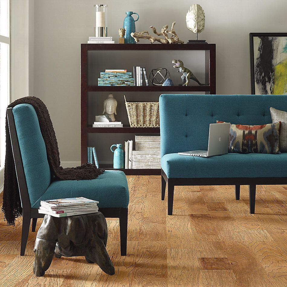 Shaw Floors Home Fn Gold Hardwood Leesburg 2 -6 3/8″ Allspice 02002_HW607