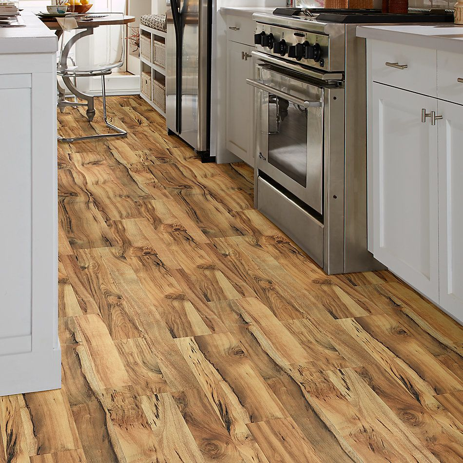 Shaw Floors Home Fn Gold Laminate Living View Golden Acacia 02014_HL110