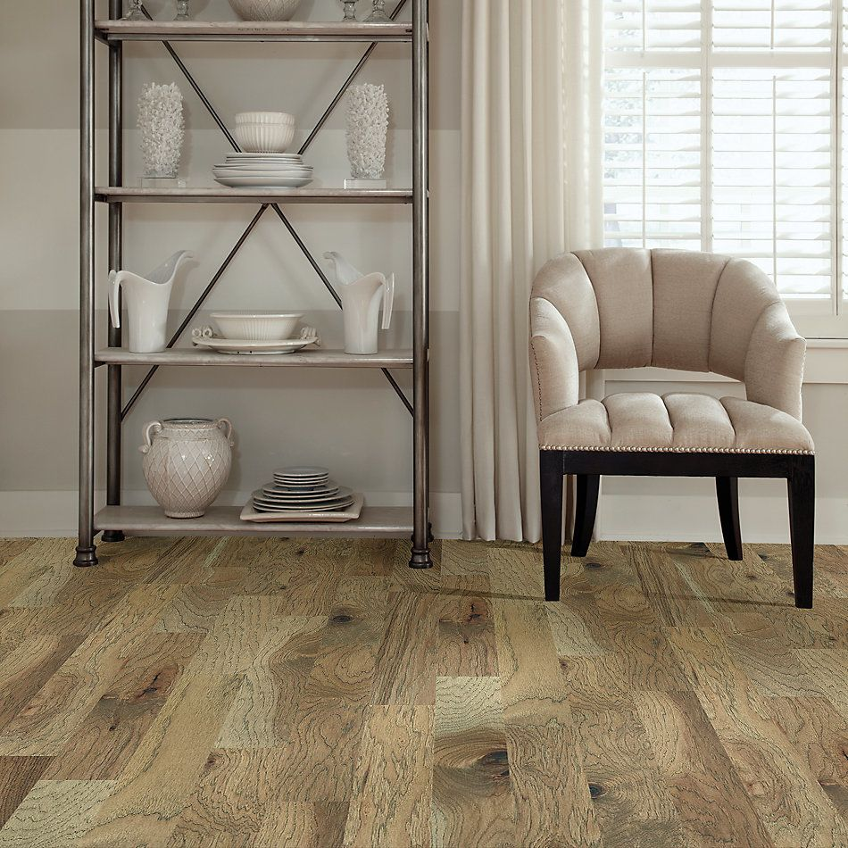 Shaw Floors Home Fn Gold Hardwood Campbell Creek Smooth Burlap 02026_HW669