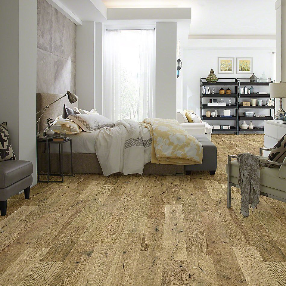 Shaw Floors Shaw Hardwoods Couture Oak Crema 02034_SW689