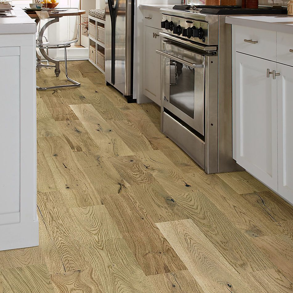 Shaw Floors Home Fn Gold Hardwood Elegance Oak Crema 02034_HW689