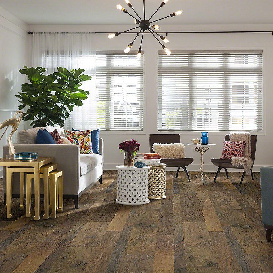Shaw Floors Repel Hardwood Landmark Mixed Width Walnut Yosemite 02044_SW703