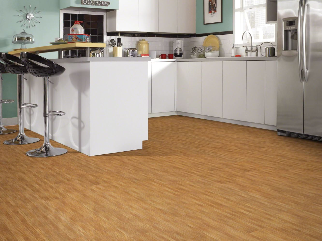 Shaw Floors Resilient Residential Urbanality 6 Plank Bridgeway 00768_0309V