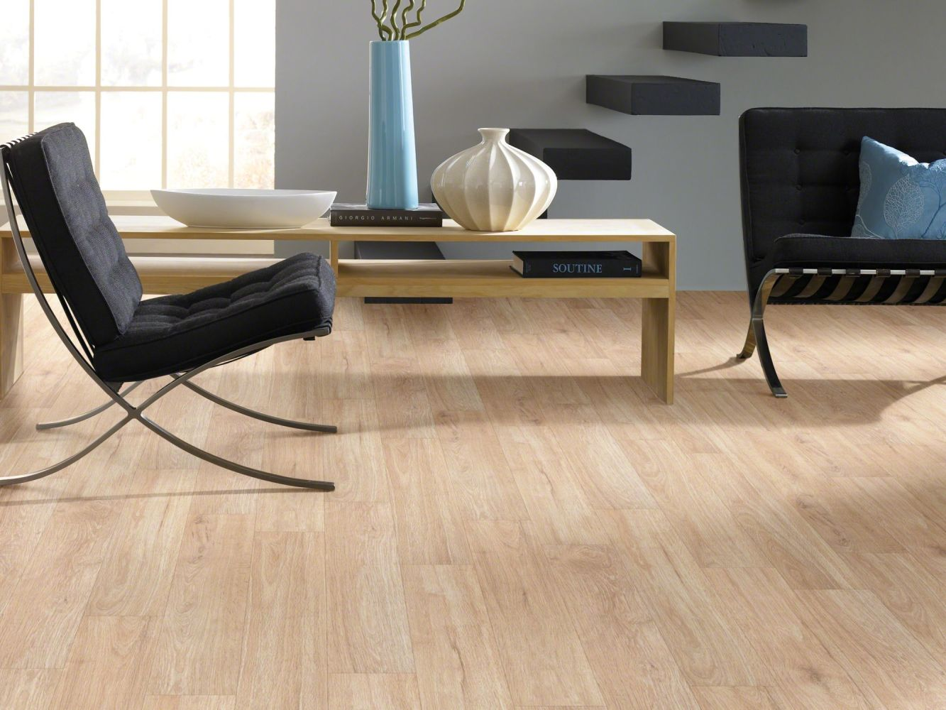 Shaw Floors Resilient Residential Urbanality 12 Plank Sidewalk 00126_0310V