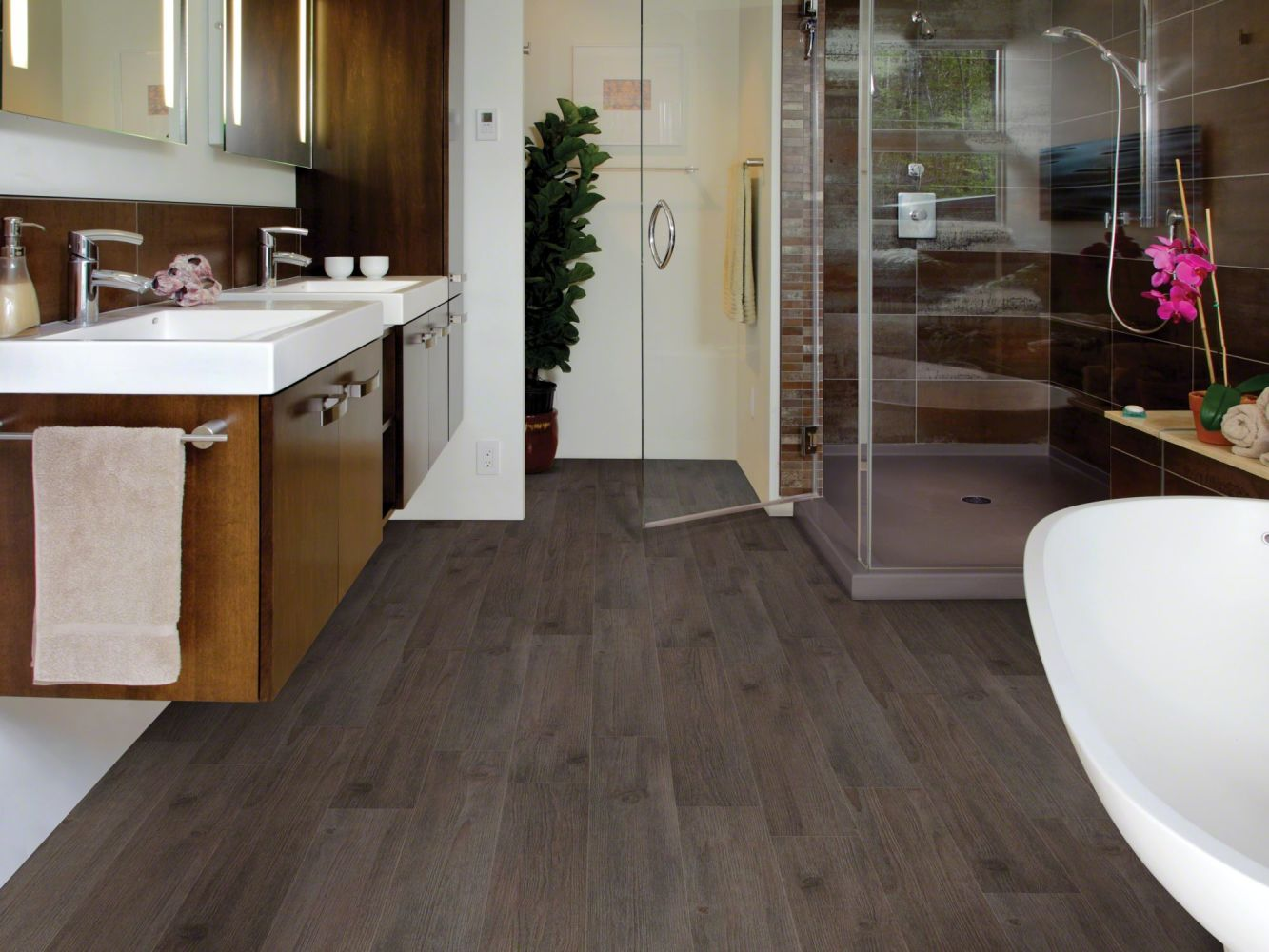 Shaw Floors Resilient Residential Urbanality 12 Plank Skyline 00759_0310V