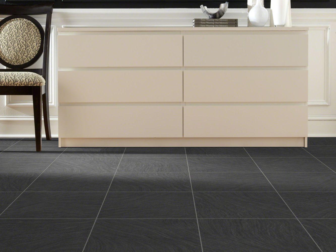 Shaw Floors Resilient Residential Renaissance Coal 00502_0331V