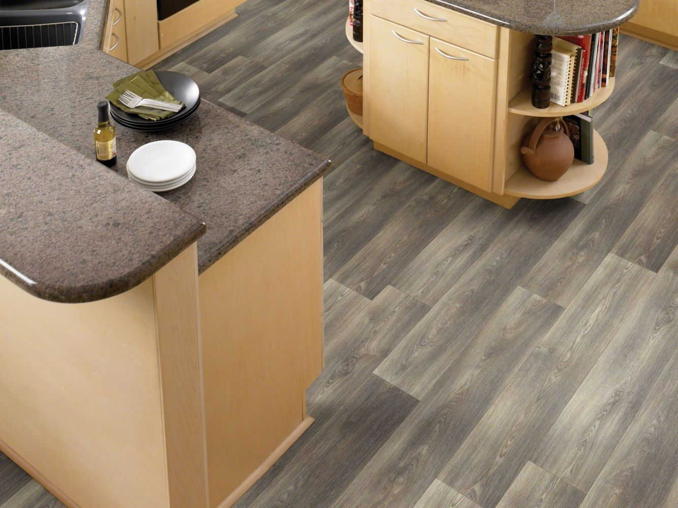 Shaw Floors Resilient Residential Zeus Mountain Grey 00527_0429V