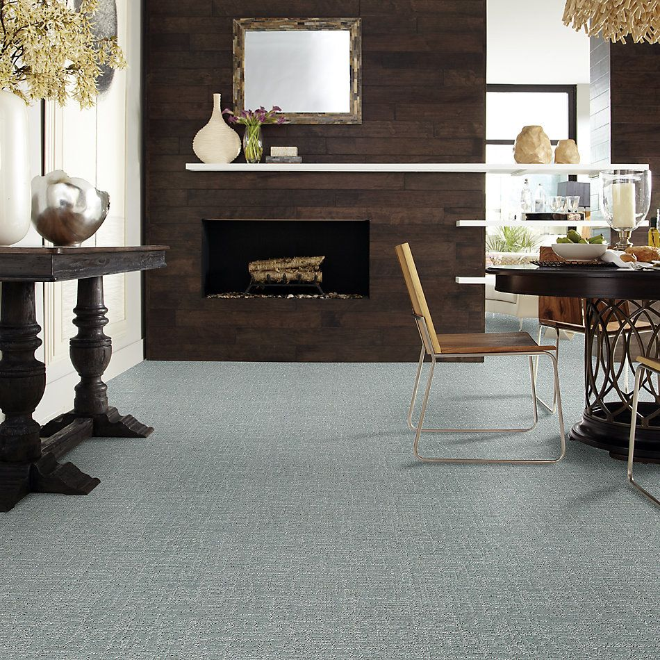 Shaw Floors Value Collections Creating Memories Blue Net Water's Edge 0430P_EA829