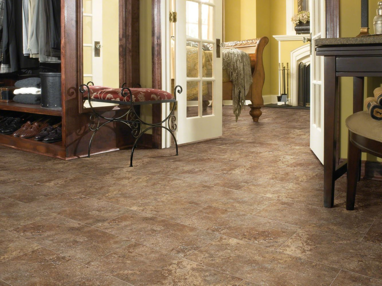 Shaw Floors Vinyl Residential Journey Tile Tibet 00750_0494V