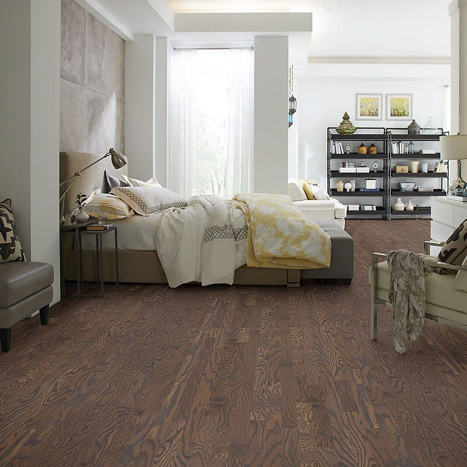 Shaw Floors Home Fn Gold Hardwood Ruger Oak 3 Granite 05000_HW537