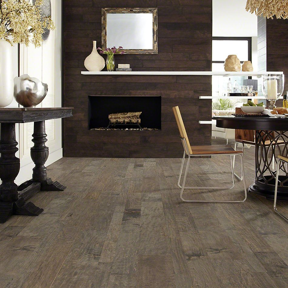 Shaw Floors Shaw Hardwoods Yukon Maple Mixed Width Timberwolf 05002_SW549