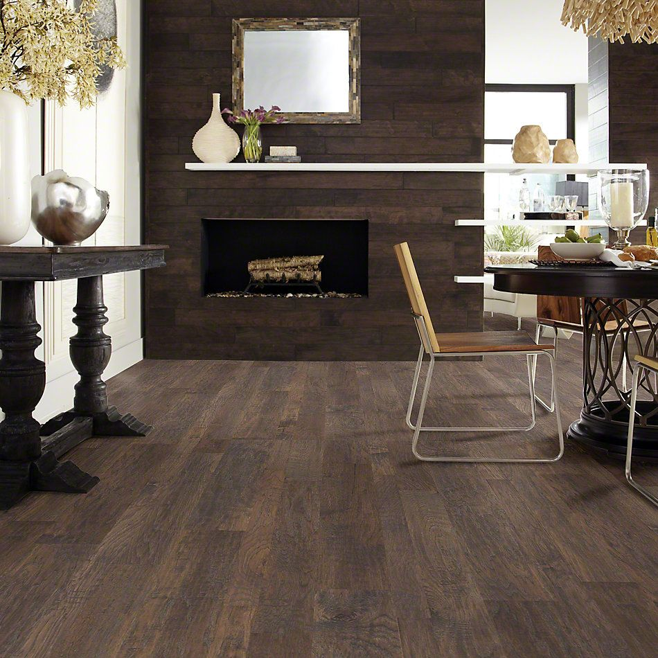 Shaw Floors Shaw Hardwoods Sequoia Hickory Mixed Width Crystal Cave 05003_SW546