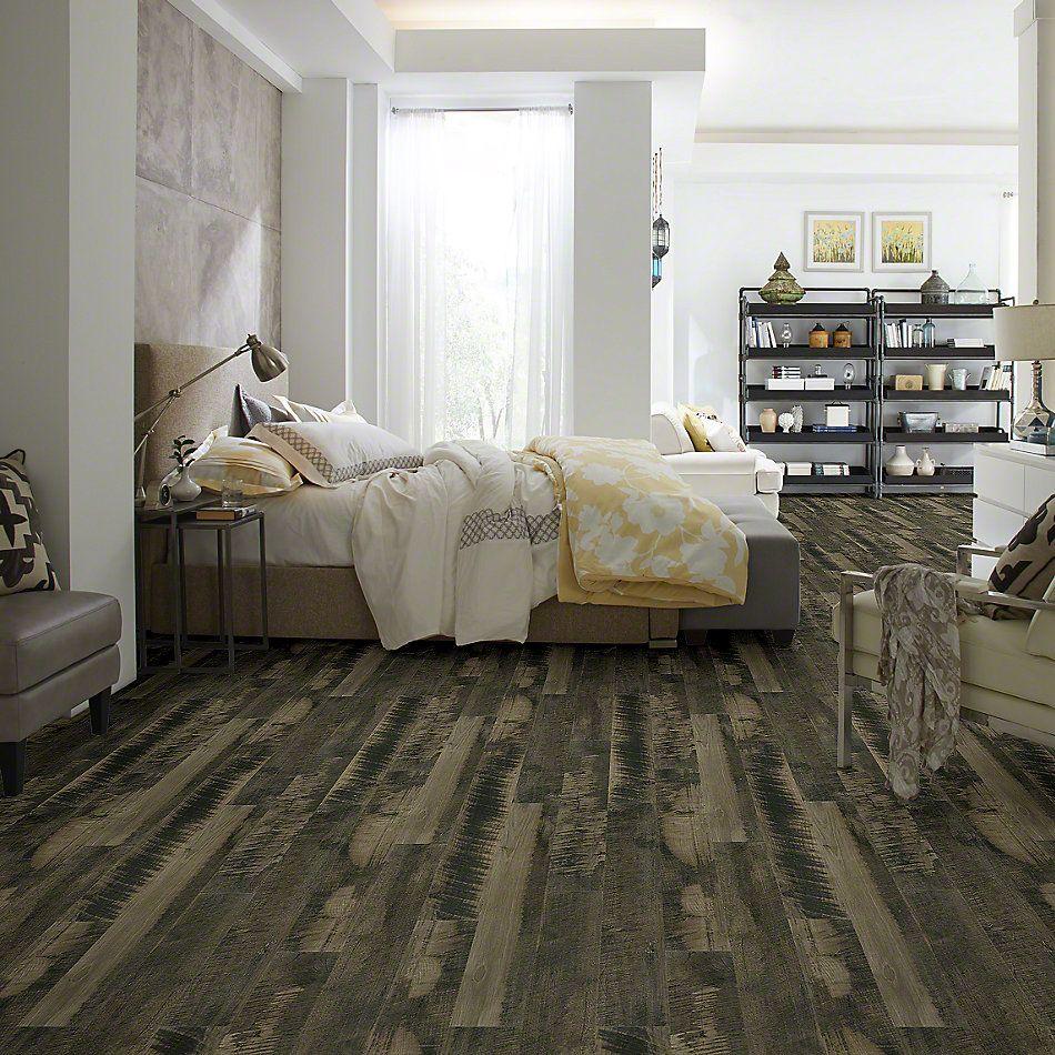 Shaw Floors Versalock Laminate Pier Park Charcoal Gray 05012_SL379